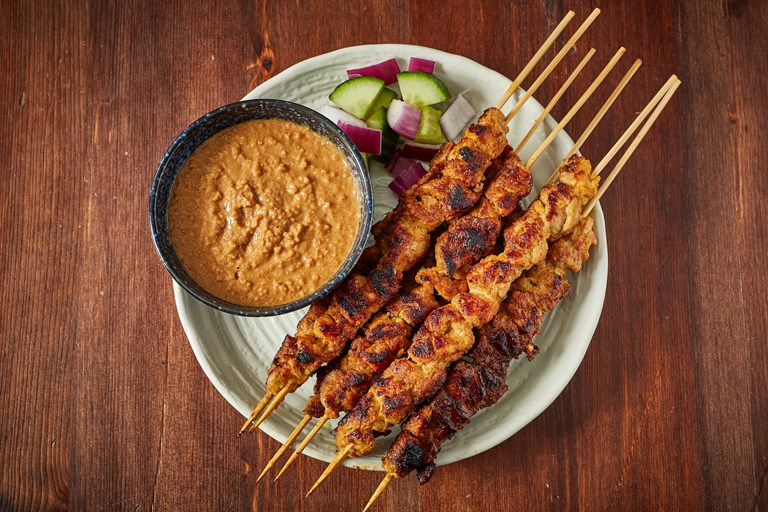 Malaysian Chicken Satay Recipe Great British Chefs