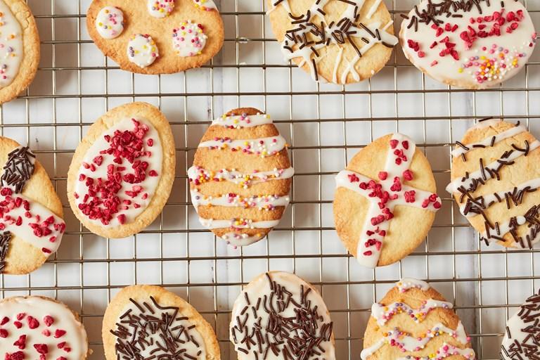 Gluten Free Easter Biscuits Recipe Great British Chefs