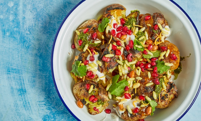 BBQ aloo chaat