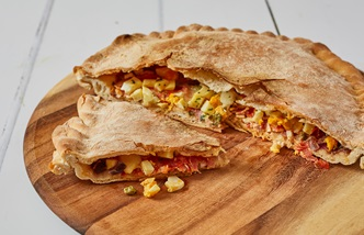 Pitta china calabrese – Calabrian stuffed flatbread