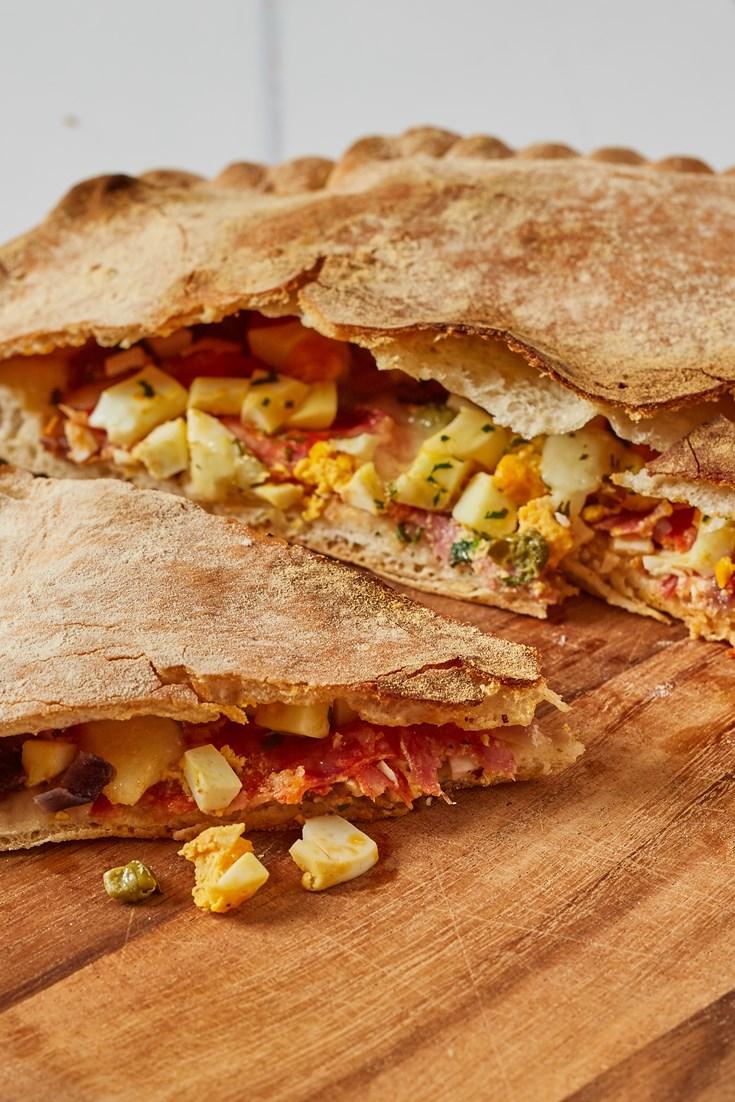 Pitta China Calabrese Recipe - Great Italian Chefs