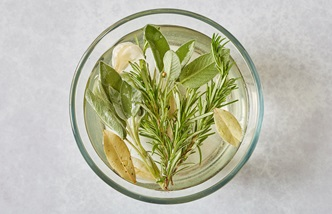 Rosemary and sage brine for pork, turkey or chicken