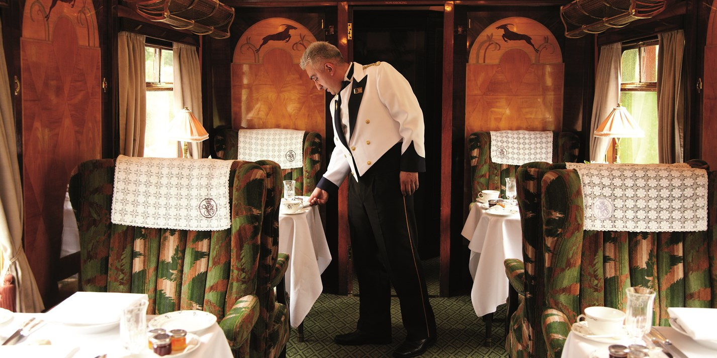 Full steam ahead: fine dining on Belmond British Pullman