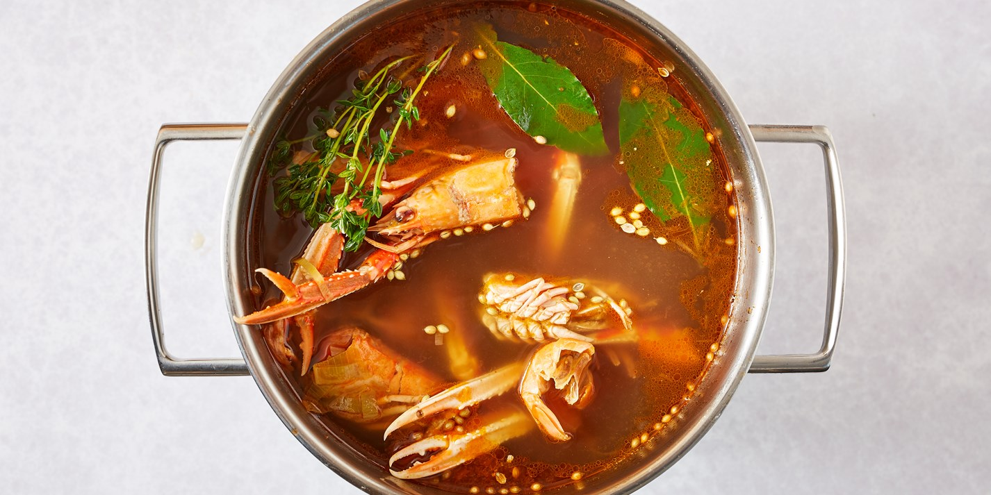 How to make shellfish stock