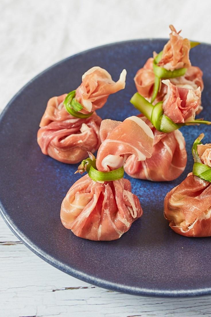 Parma Ham Parcels Recipe - Great Italian Chefs