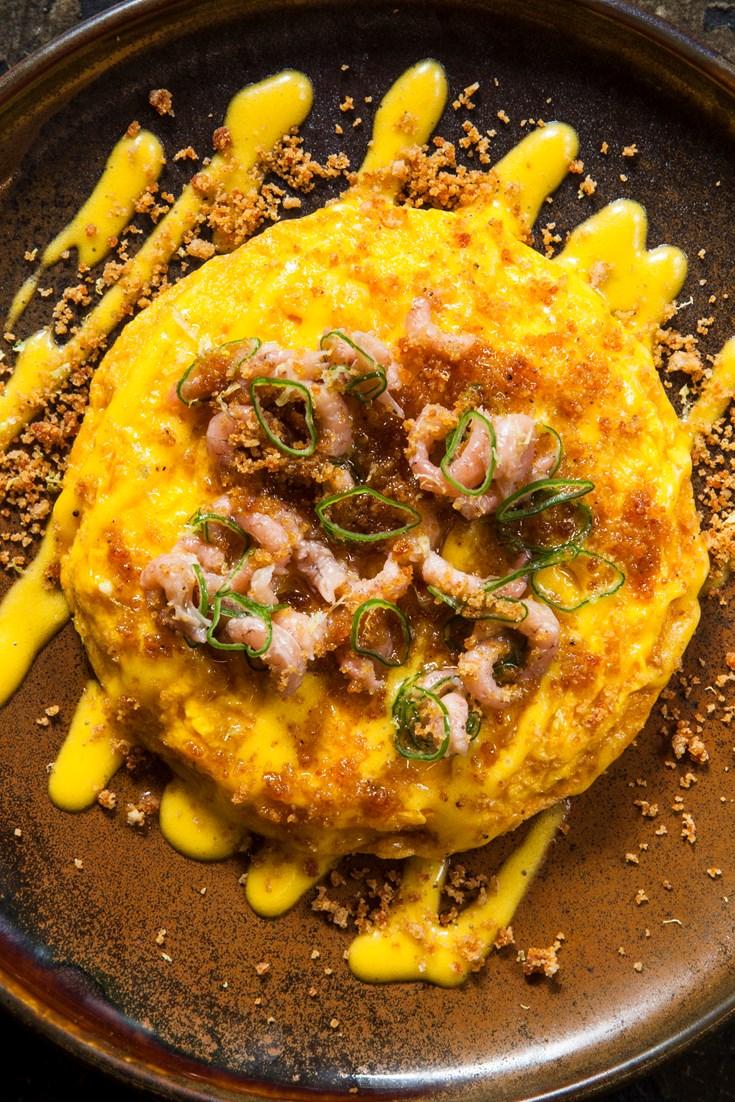 Brown Shrimp Kaygana Recipe - Great British Chefs