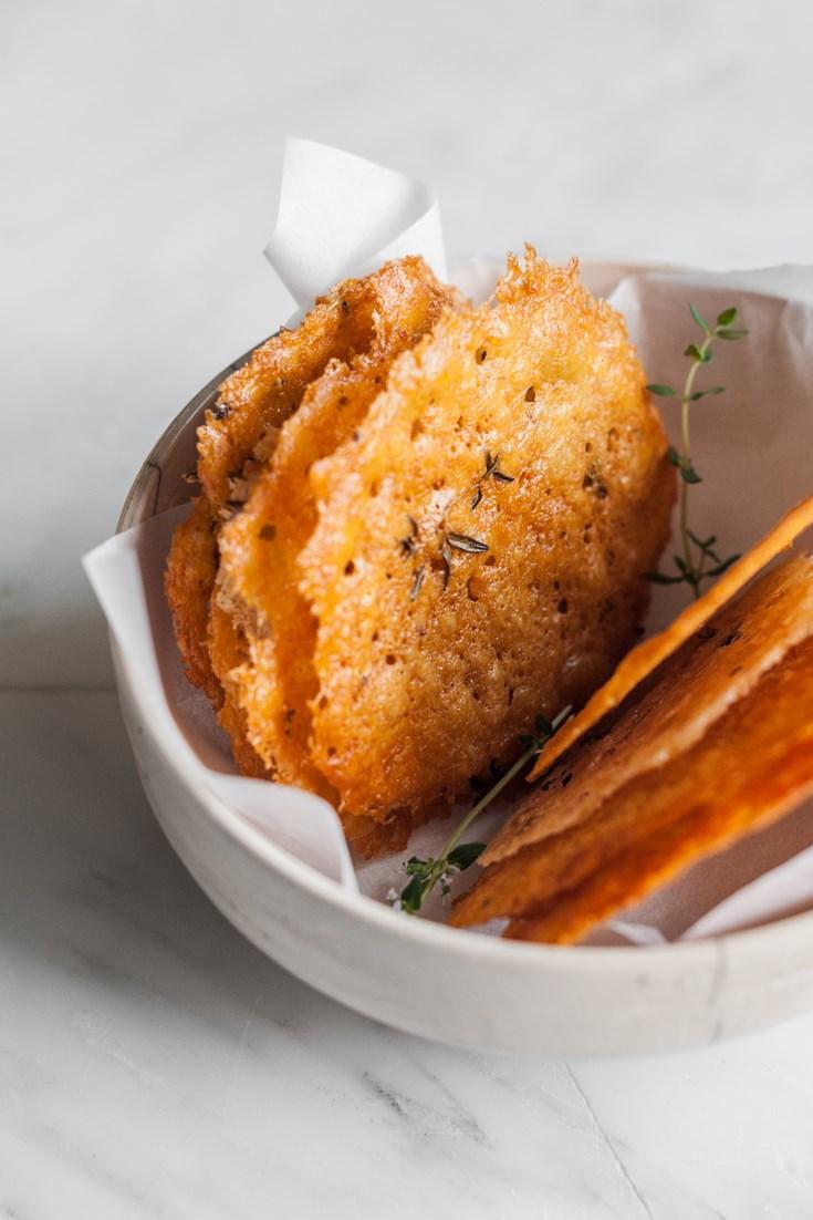 Grana Padano Crisps Recipe - Great Italian Chefs