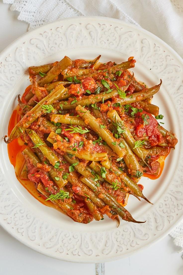 Fasolakia – Greek Green Beans Recipe - Great British Chefs