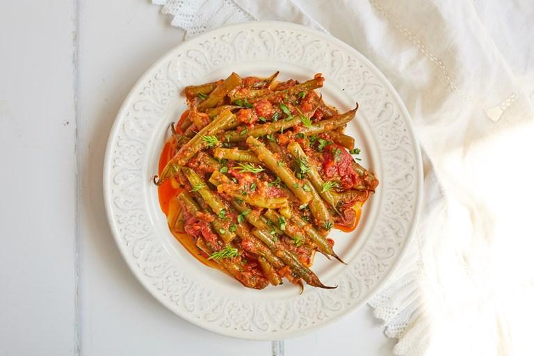Fasolakia – Greek green beans