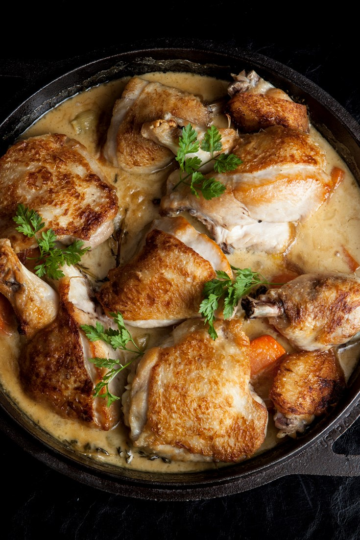 Poulet Breton Recipe - Great British Chefs