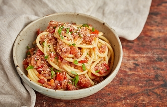 Pasta mollicata – Pasta with anchovies and breadcrumbs