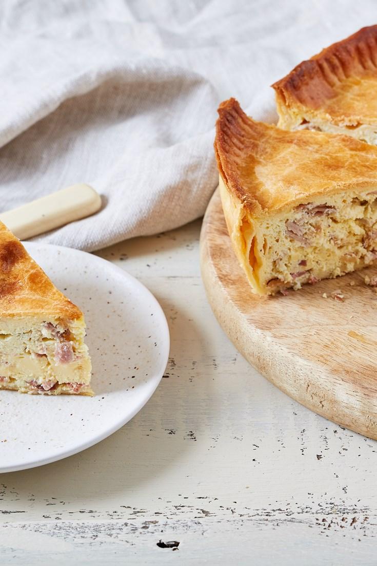Pizza Rustica – Italian Ham and Egg Pie Recipe - Great Italian Chefs