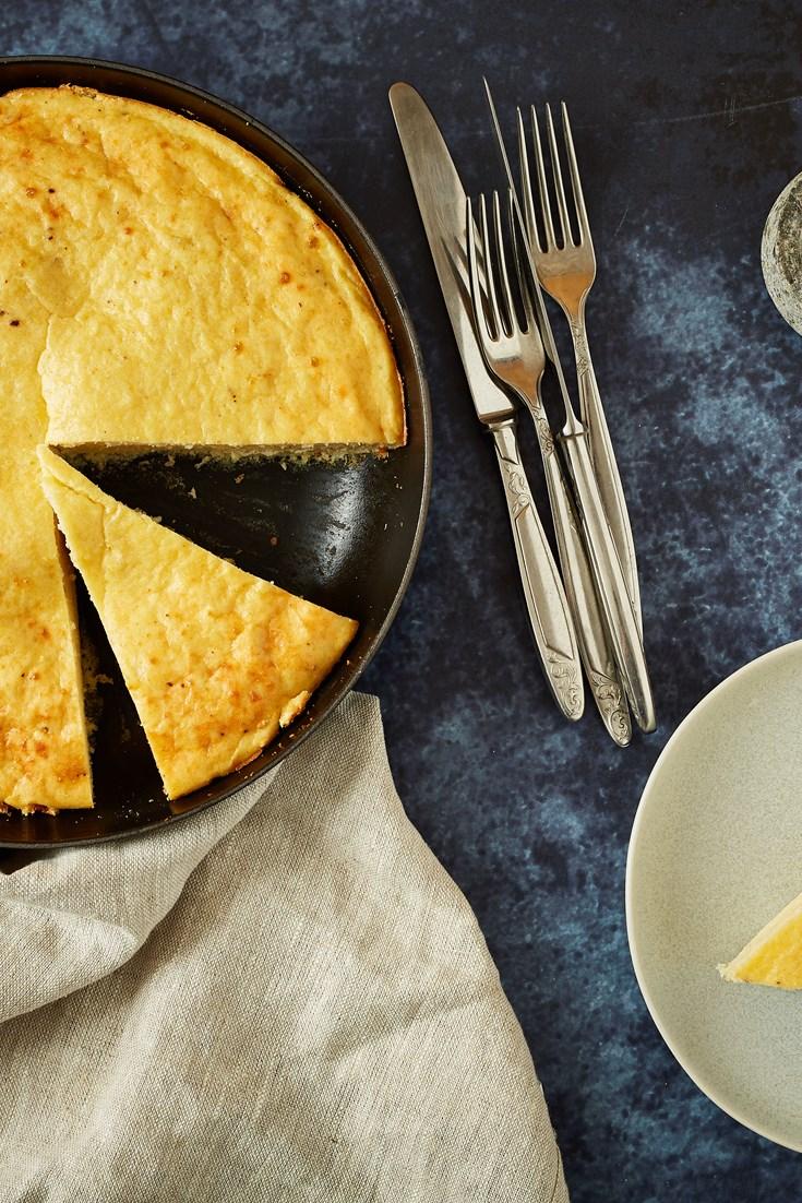 Rafanata – Horseradish and Pecorino Frittata Recipe - Great Italian Chefs