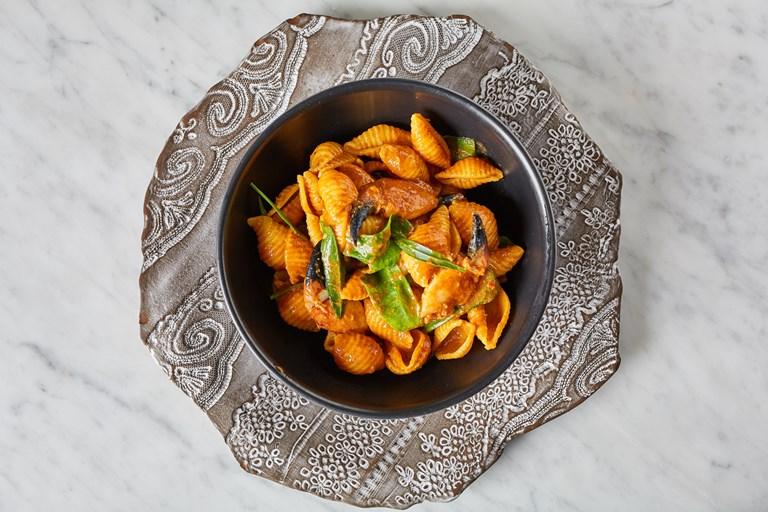 Crab Claw And Bisque Pasta Recipe Great British Chefs