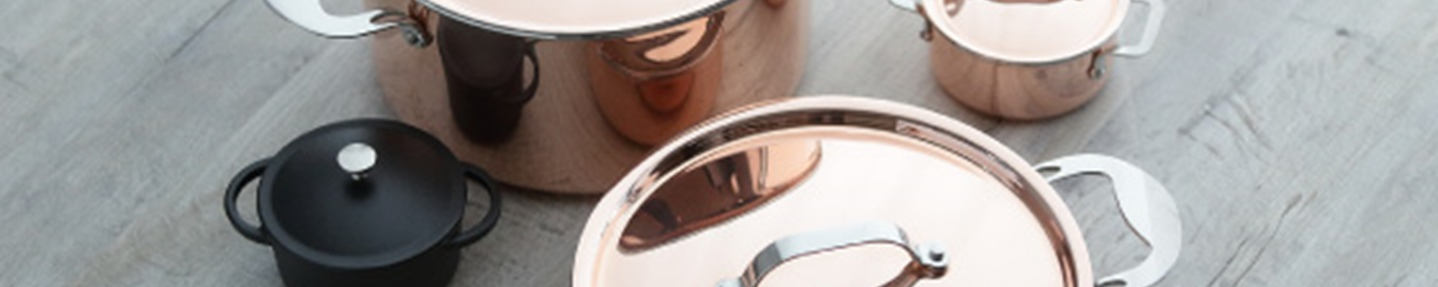 Win a copper cookware set worth over £250