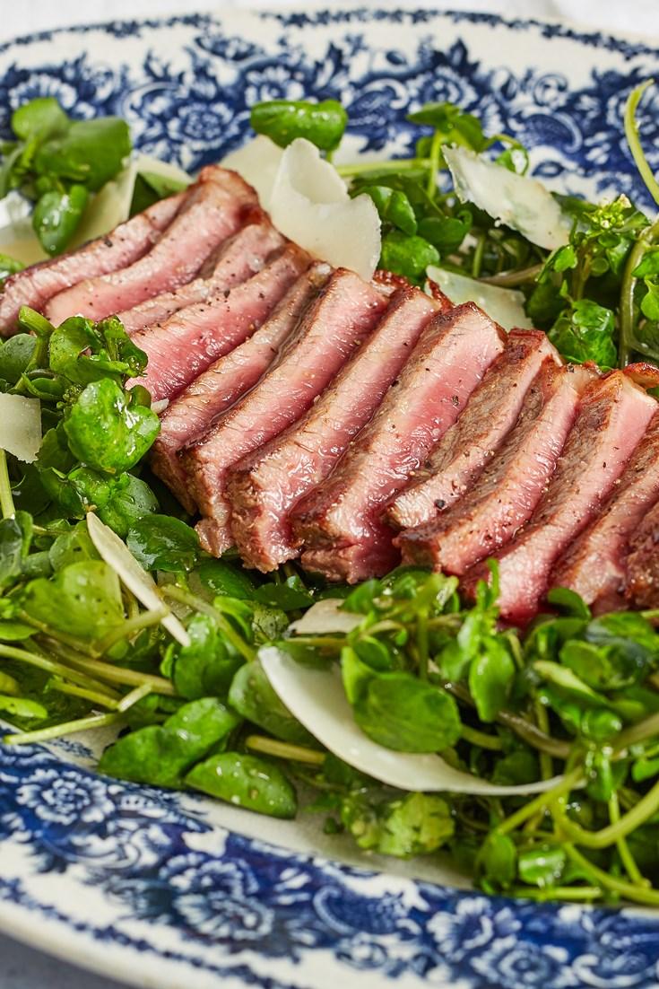 Watercress Tagliata Recipe - Great British Chefs