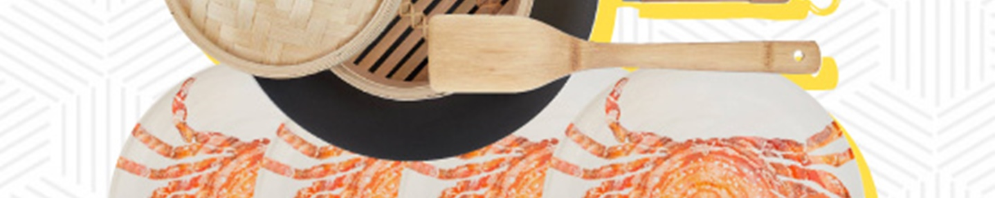 Win a bamboo steamer and crab platter worth over £200