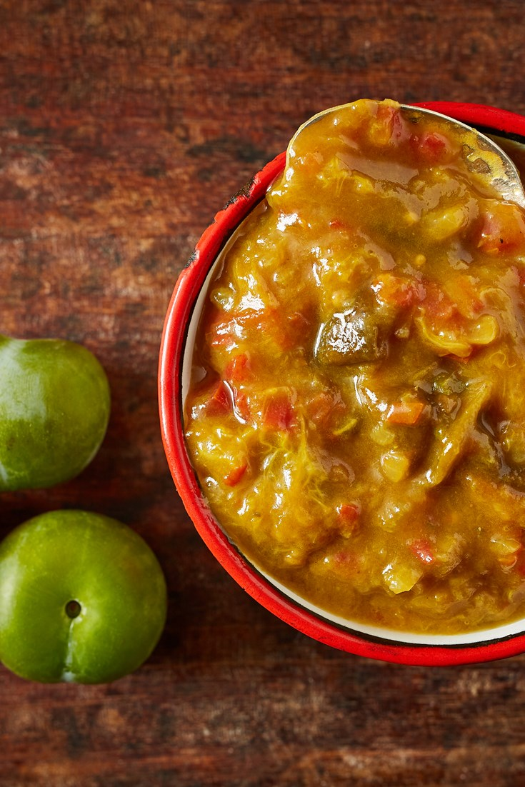 Greengage Chutney Recipe - Great British Chefs