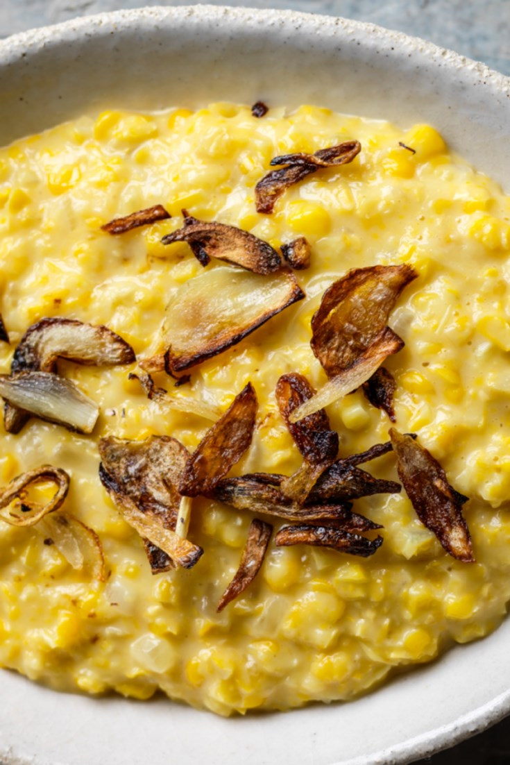 Burmese Creamed Corn with Onions Recipe - Great British Chefs