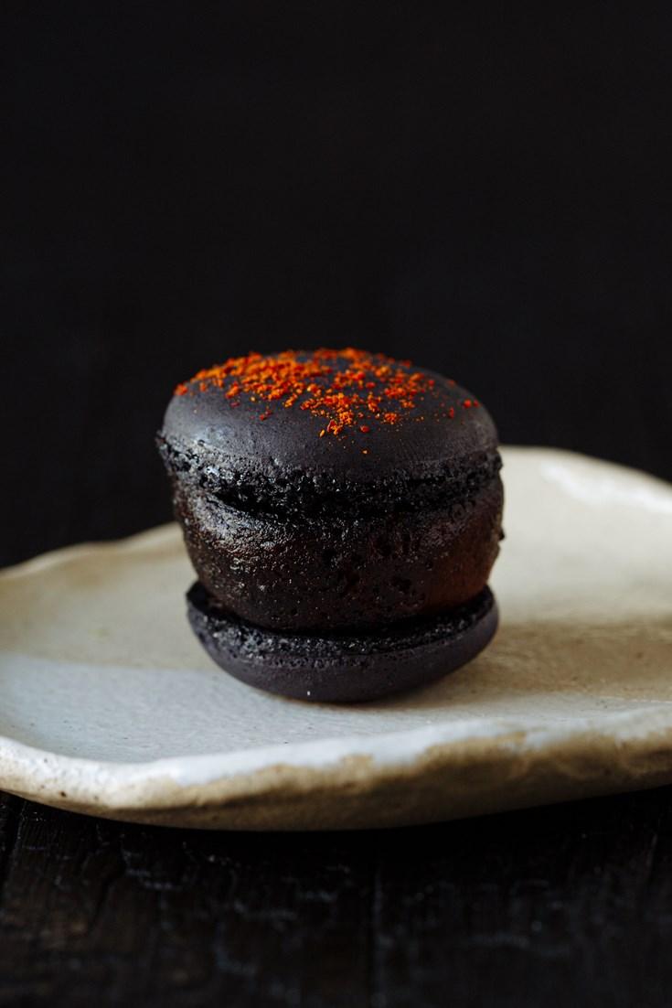 Boudin Noir Macaron Recipe - Great British Chefs