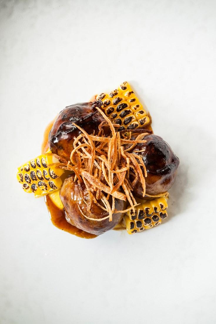 Venison Faggots with Sweetcorn Recipe - Great British Chefs