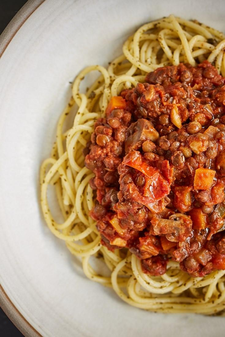 Puy Lentil Bolognese Recipe - Great British Chefs