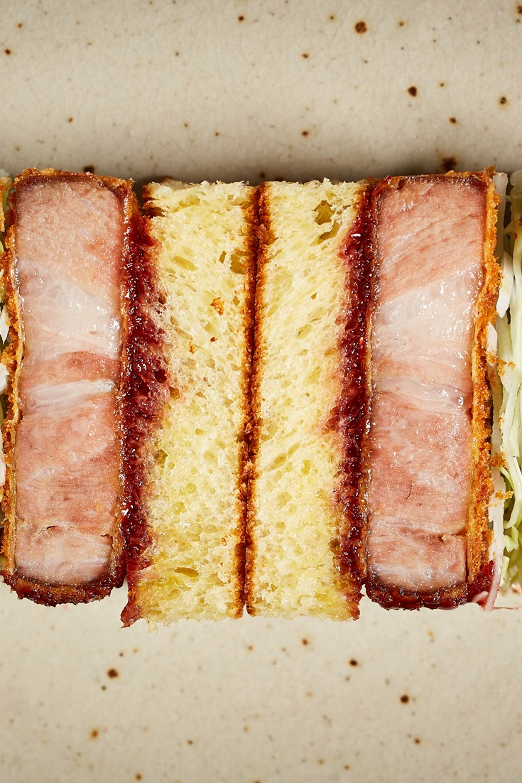 Tātā Eatery's Iberian Katsu Sando Recipe - Great British Chefs