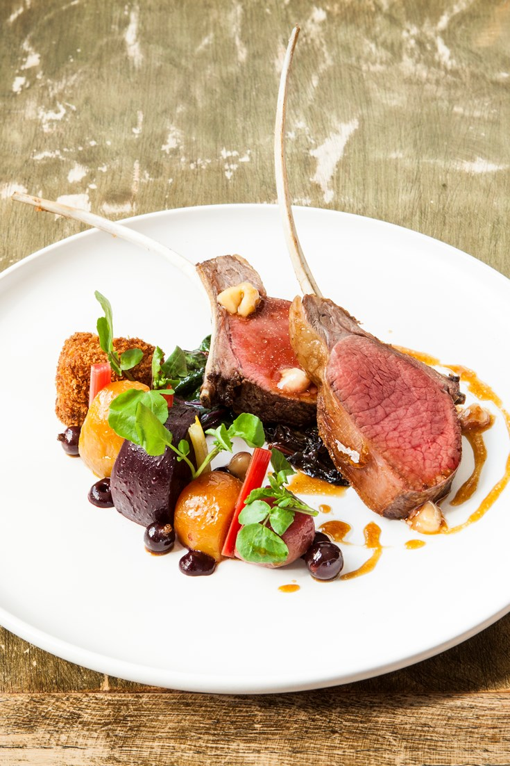 Fallow Deer with Beetroot and Blackcurrants Recipe - Great British Chefs