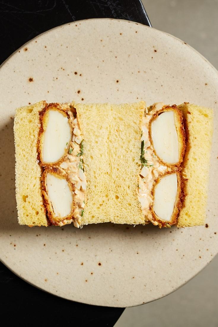 Egg Tofu Katsu Sando Recipe - Great British Chefs