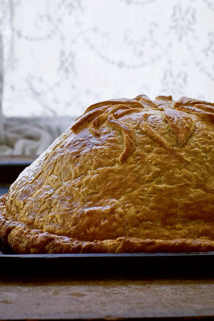 Kurnik Chicken Pie Recipe - Great British Chefs