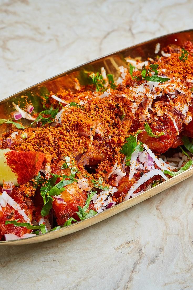 Ghati Masala Prawns Recipe - Great British Chefs