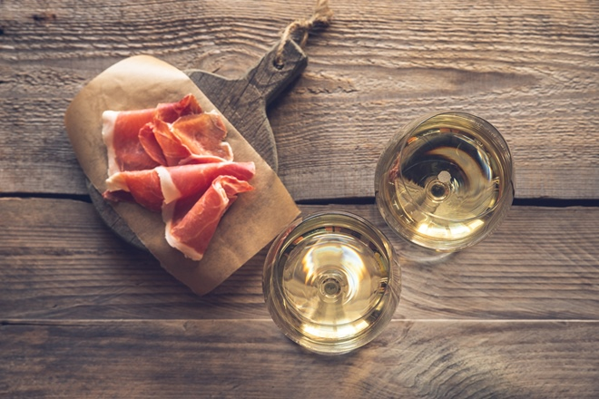 Pinot Grigio and Parma ham: a match made in heaven