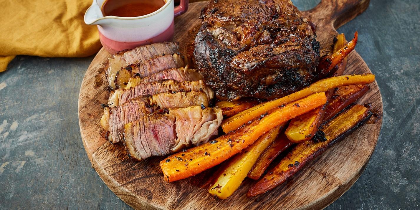 Black Garlic and Chipotle Roast Beef Recipe - Great British Chefs