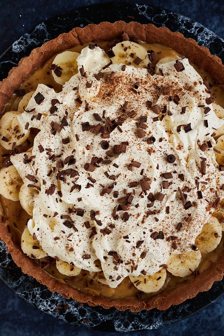 Rye, Chocolate and Cinnamon Banoffee Pie Recipe - Great British Chefs