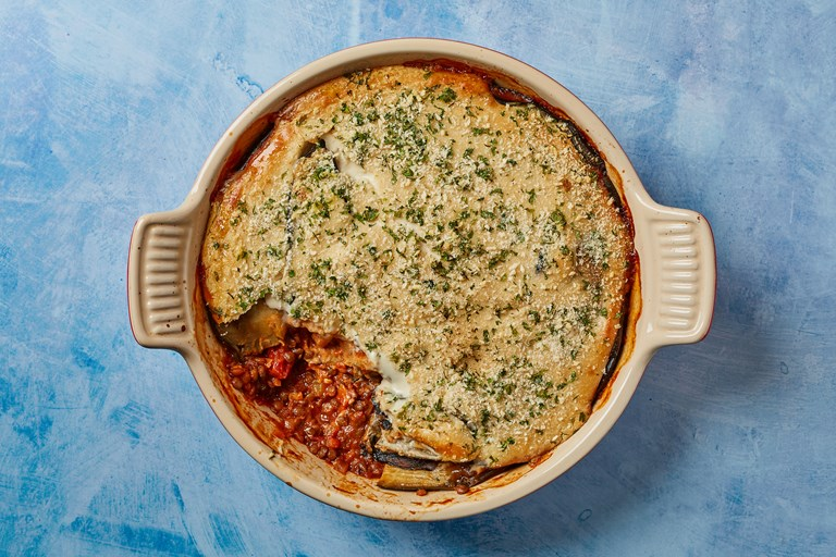 Winter Vegan Moussaka Recipe Great British Chefs