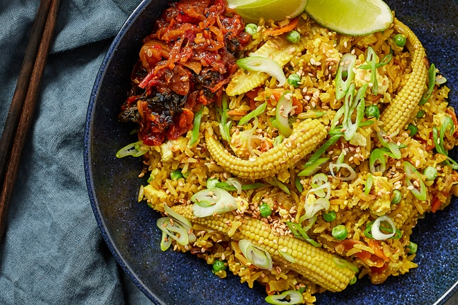 Four healthy rice recipes to fuel your week