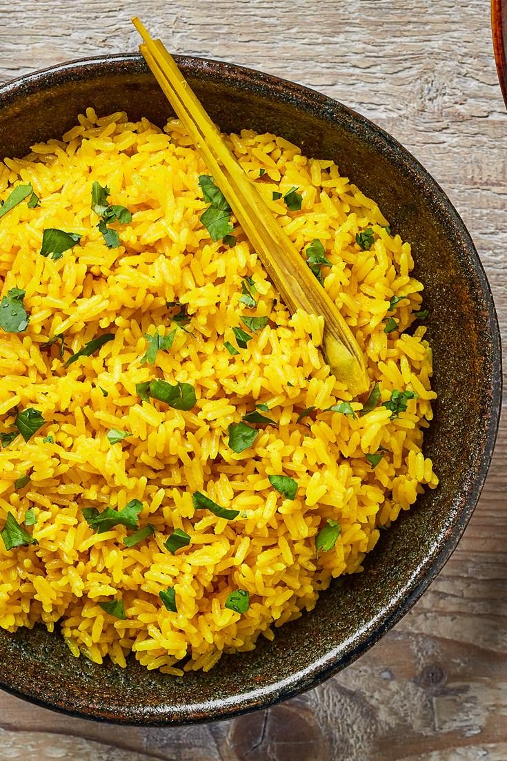 Nasi Kuning Recipe (Indonesian Turmeric Rice) - Great British Chefs