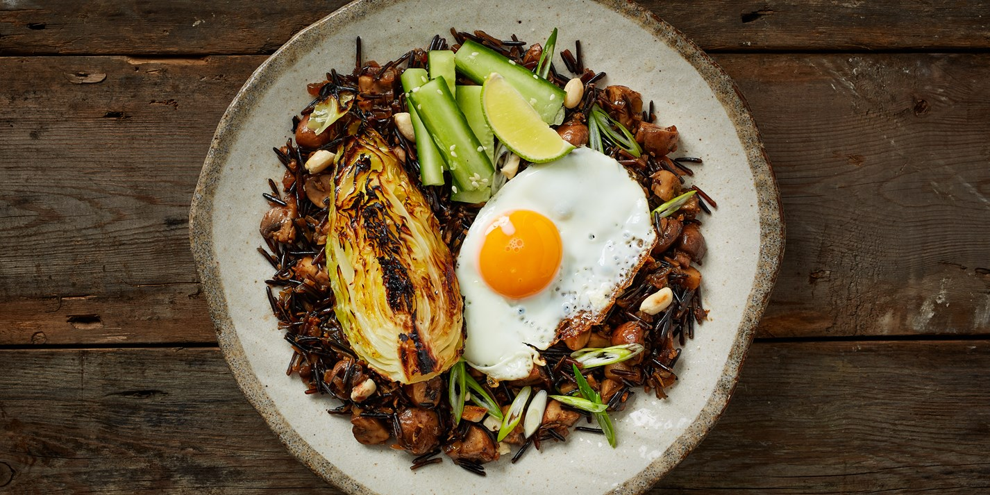 Wild Rice Nasi Goreng Recipe - Great British Chefs