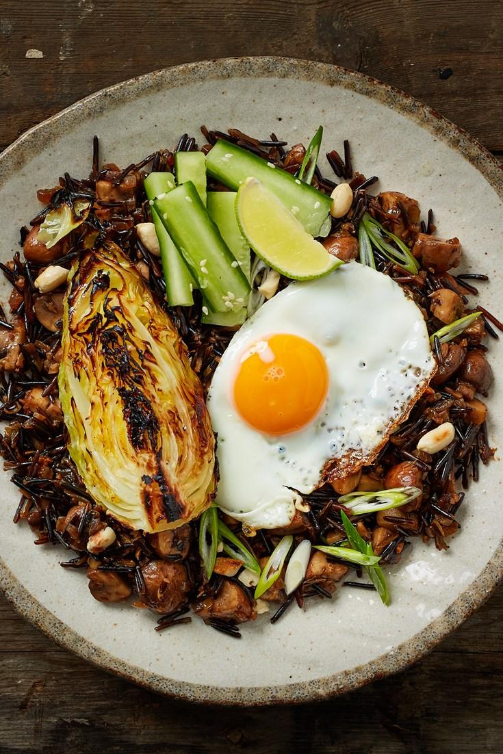 Wild Rice Nasi Goreng Recipe - Great British Chefs