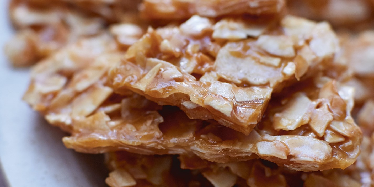 Toasted Coconut Brittle Recipe - Great British Chefs