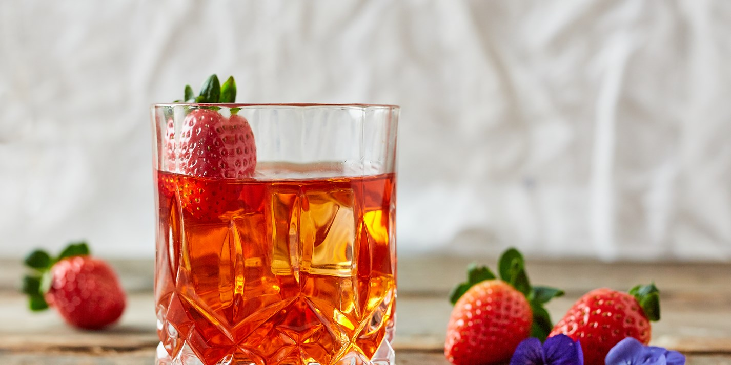 Rosé Negroni Recipe - Great British Chefs