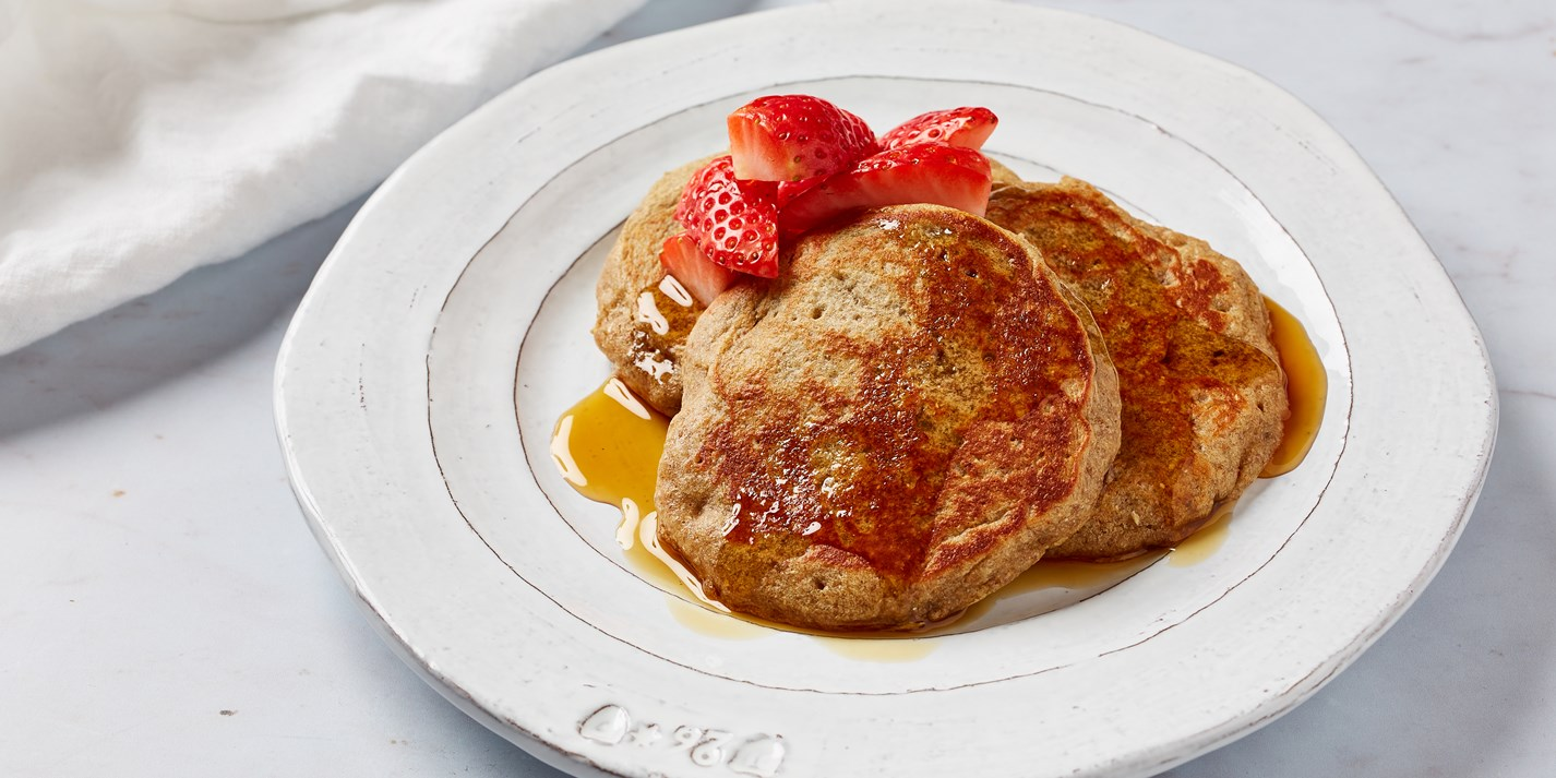Rye and Banana Pancakes Recipe - Great British Chefs