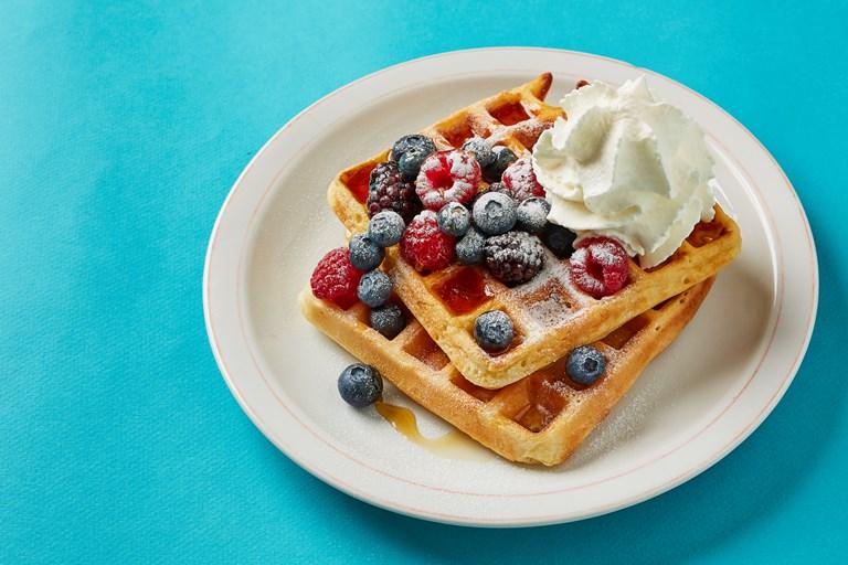 Belgian Waffles Recipe Great British Chefs
