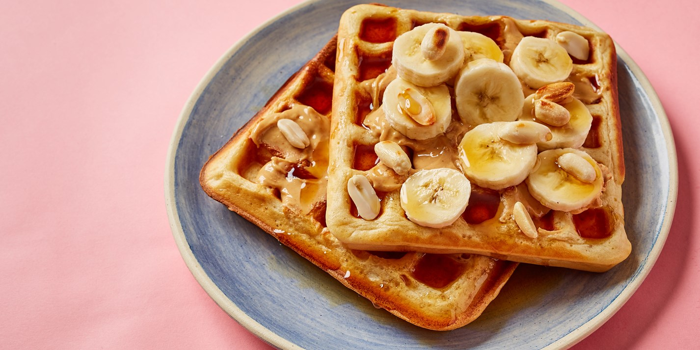 Peanut Butter Waffles Recipe - Great British Chefs