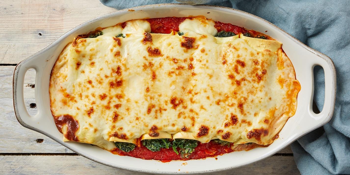 Cannelloni Ricotta e Spinaci Recipe - Great Italian Chefs