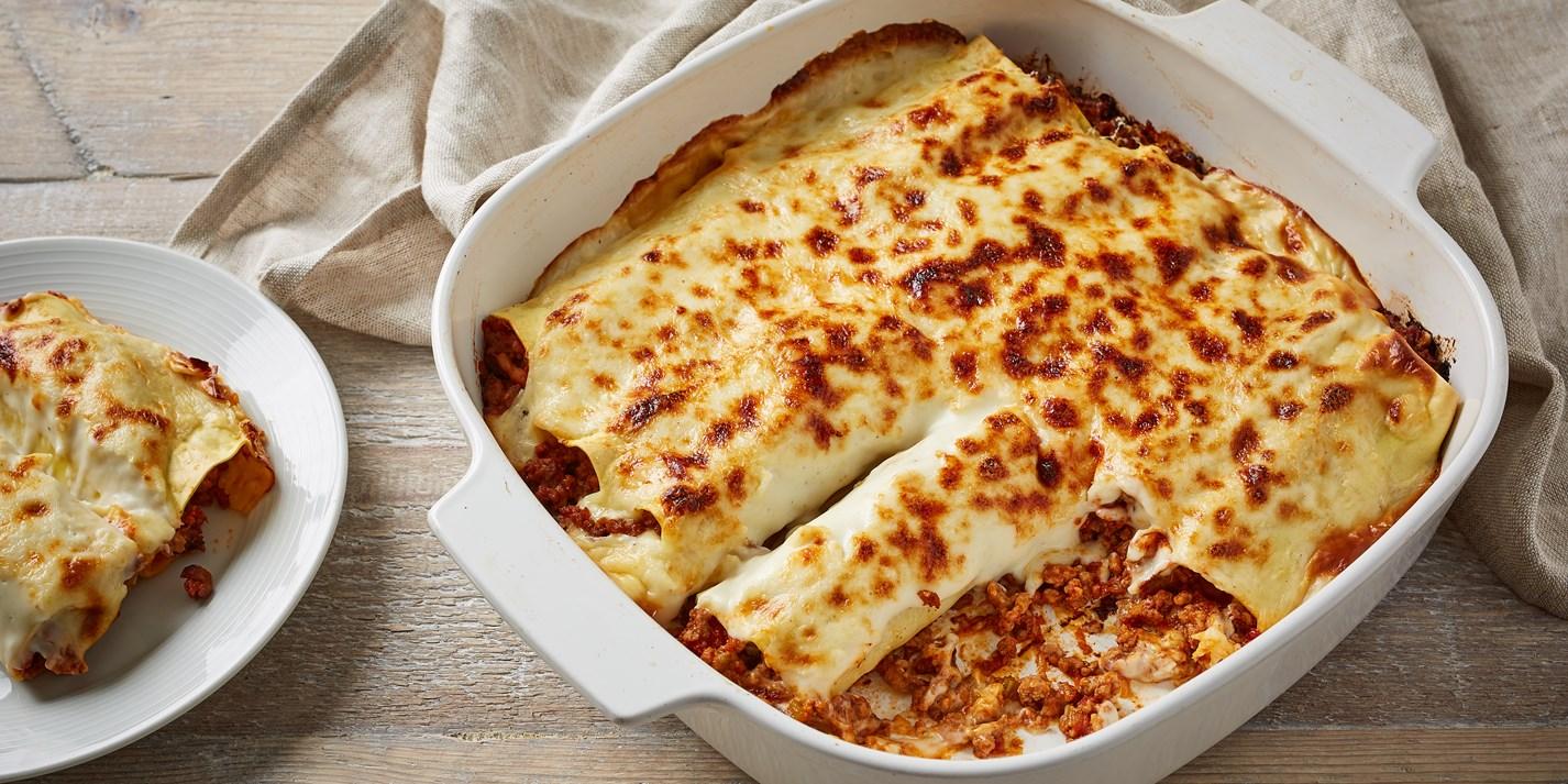 Cannelloni di Carne (Beef Cannelloni) Recipe - Great Italian Chefs