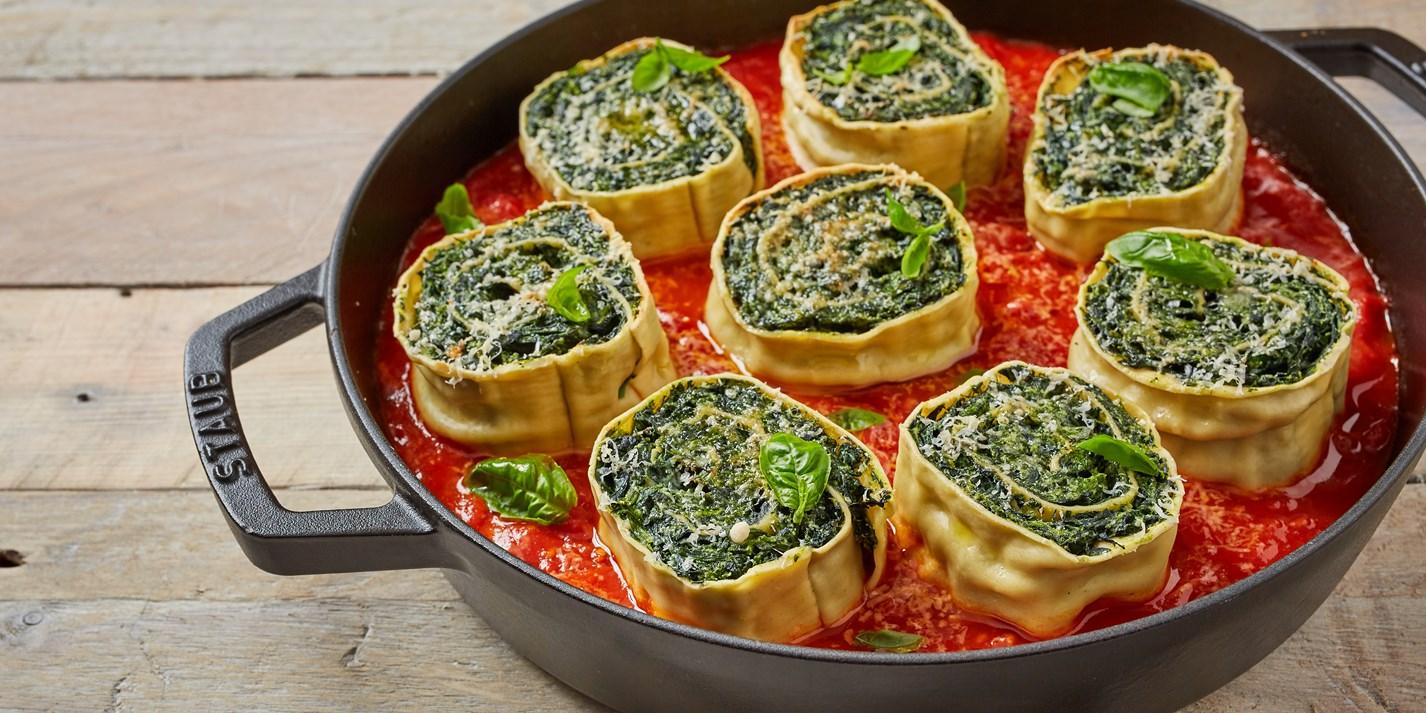 Rotolo di Spinaci Recipe - Great Italian Chefs