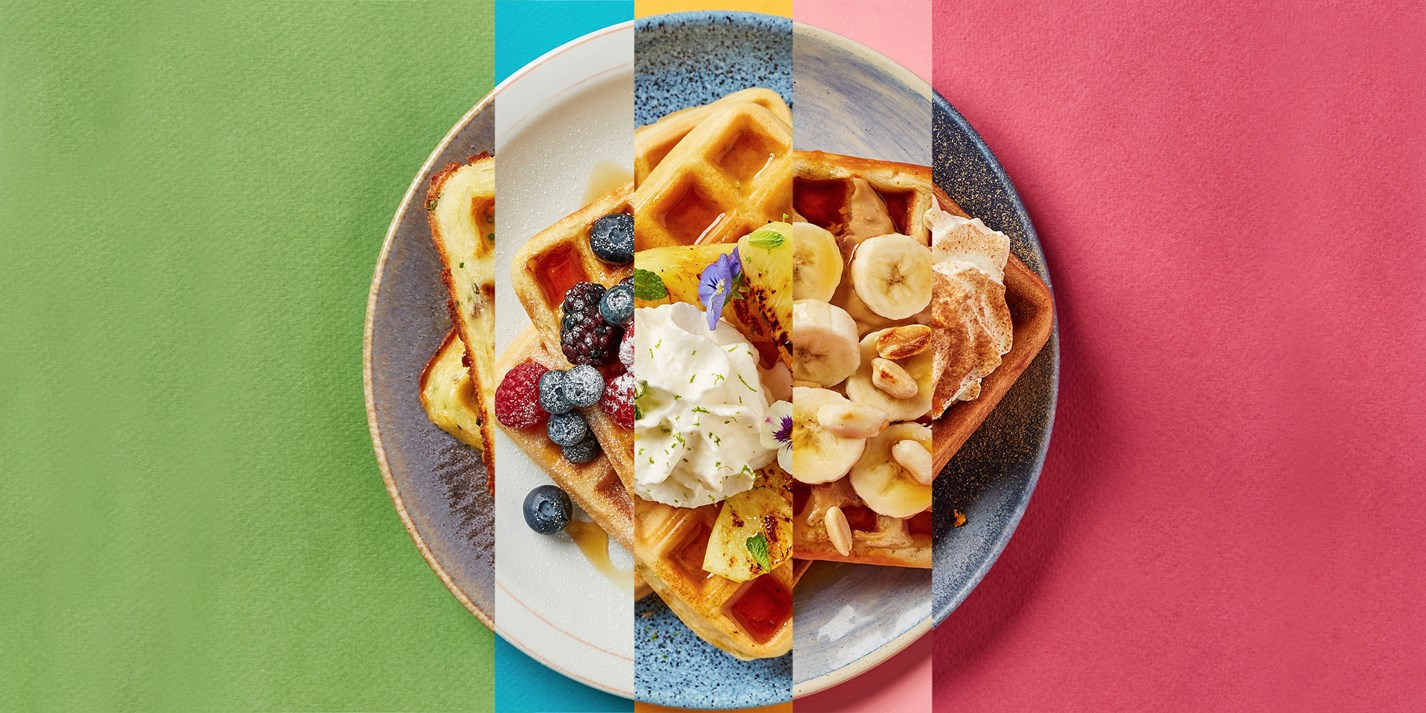 Our Best Waffle Recipes - Great British Chefs