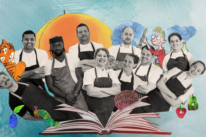 Announcing the chefs from BBC's Great British Menu 2020