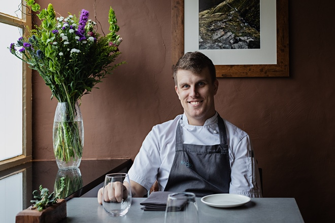 Tom Barnes: a bright future for British food